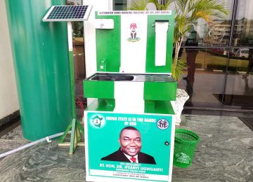 SOLAR POWERED SANITIZER