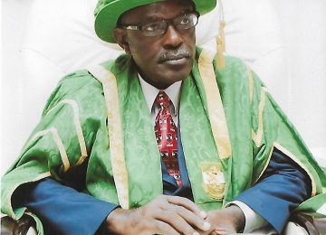Prof. James Chukwuma Ogbonna, Deputy Vice-Chancellor, Academic during the matriculation ceremony at the International Conference Centre Campus 3, Enugu.